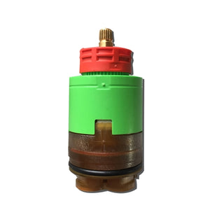 Paini Pressure Balance Cartridge with Volume Control - Brass Rotary Handle