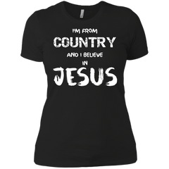 Personalized Country I Believe In Jesus Customized Shirt