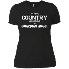 Personalized Country I Believe In Guardian Angel Customized Shirt