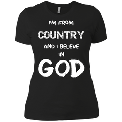 Personalized Country I Believe in God Customized Shirt