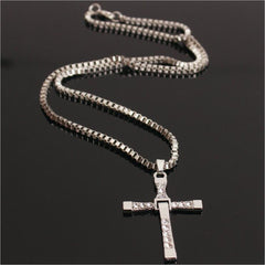 The Fast and the Furious Crystal Cross Necklace Free Just pay Shipping | Angelic Gift Shop