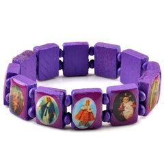 Jesus Religious Wood Bracelet Free Just pay Shipping | Angelic Gift Shop