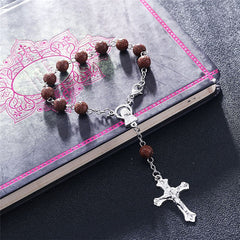 Virgin Maria Cross Pendant Bracelet Free Just pay Shipping | Angelic Gift Shop