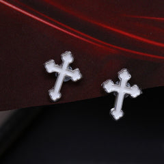 Jesus Christ Cross Magnetic Stud Earring Free Just pay Shipping | Angelic Gift Shop