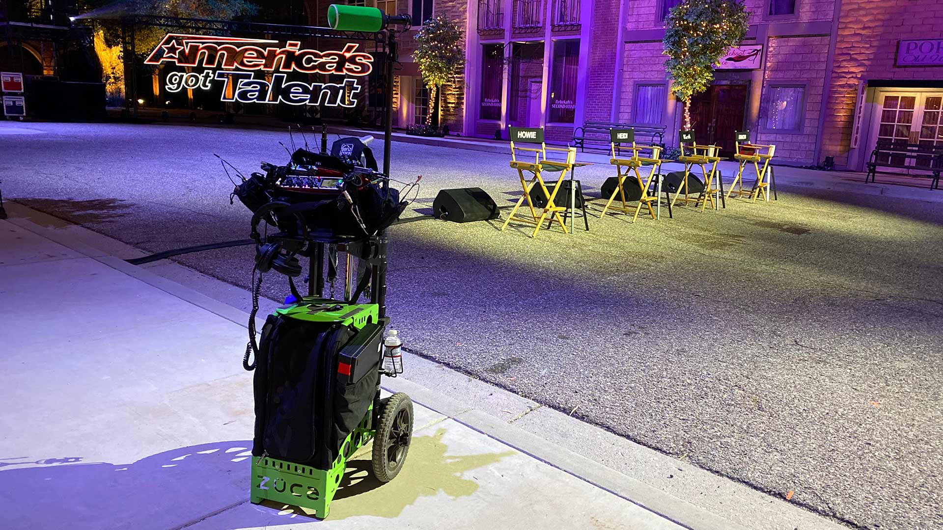 Sound Cart on America's Got Talent 2020