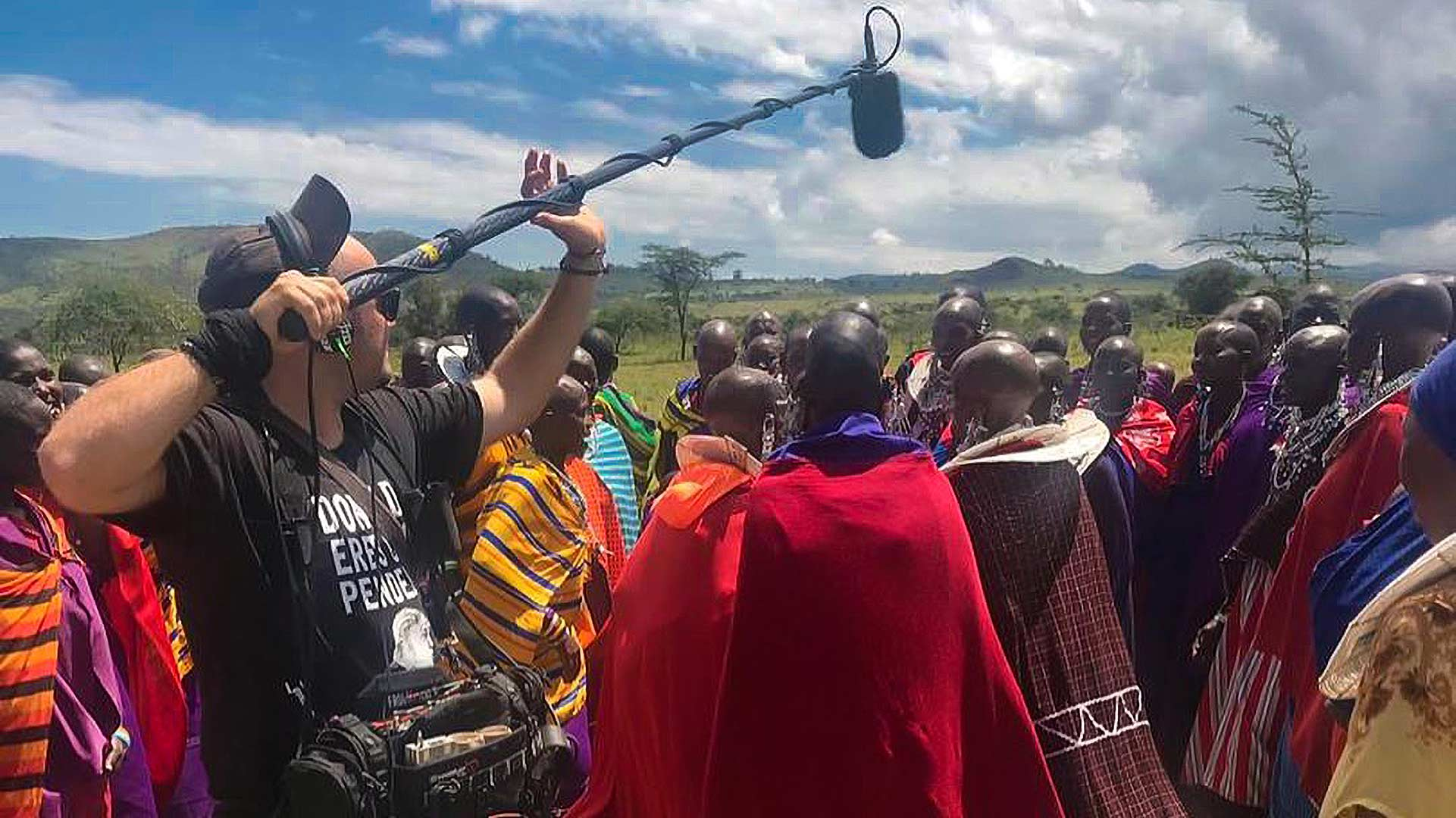 Igor Marlot and the Maasai Tribe