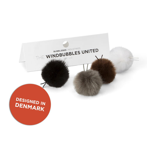 The Windbubbles United (4 bubbles, 1 size, 4 colors)