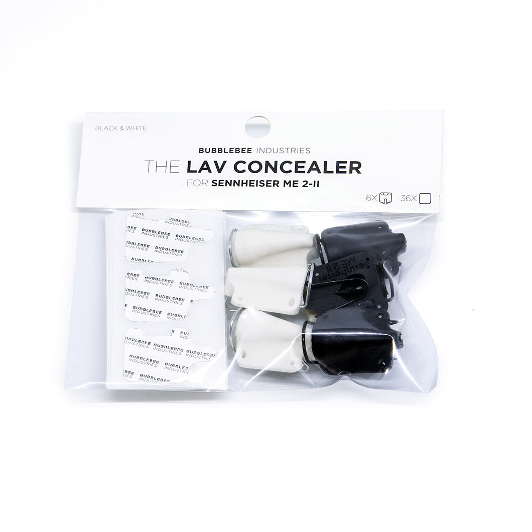 The Lav Concealer for Sennheiser ME 2-II (6-Pack)