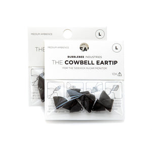 The Sidekick Cowbell Eartip, 10-Pack
