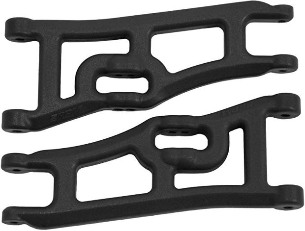 Rpm Black  Front A-arms Wide 2wd