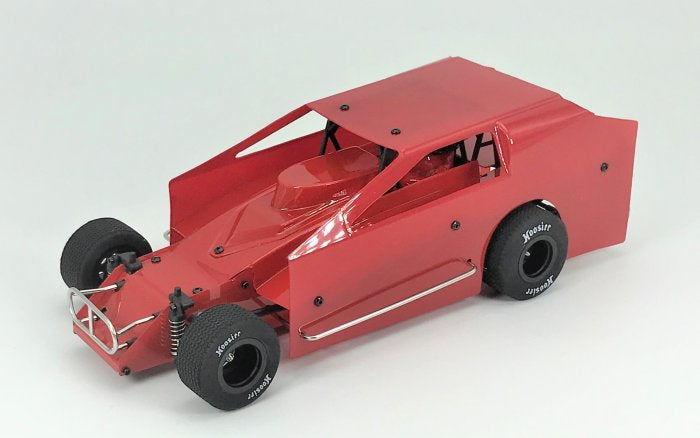 1RC Racing 1/18 Scale Dirt Modified Car RTR (Red)