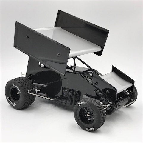 1RC Racing 1/18 Scale Sprint Car RTR (Black)