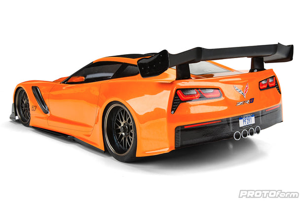 PF Corvette ZR1 Light Weight Body Clear 190mm TC
