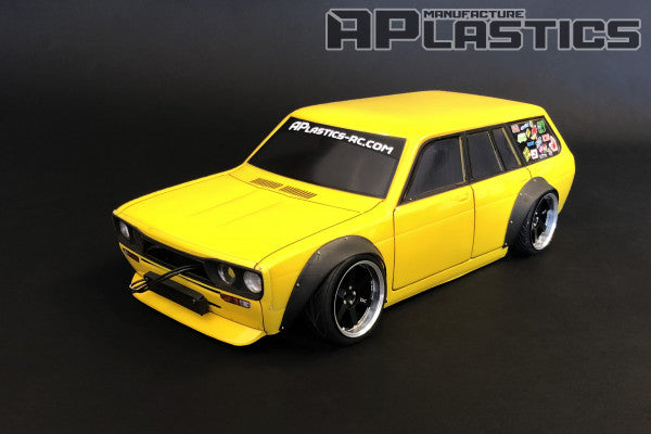 Datsun 510 Wagon Wide Body (Clear body)