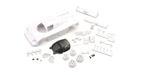 KYOSHO MINI-Z  Sauber Mercedes C9 WHITE BODY SET (W/Rim for RWD)