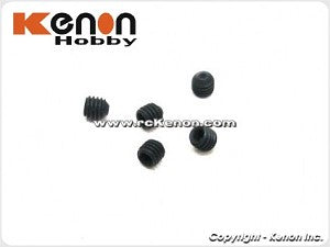 PN Racing  Mini-Z Ball Diff Socket Set Screw M3x3 (5 pcs)