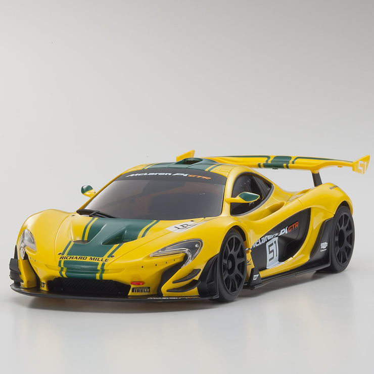 Mini-Z RWD McLaren P1 GTR (MR-03) Yellow/Green