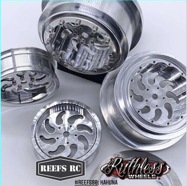 Reef RC KURL Beadlock Drag Wheels