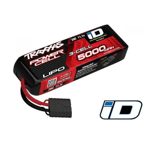 Traxxas power cell 3S 11.1v 5000MAH 25c LiPo