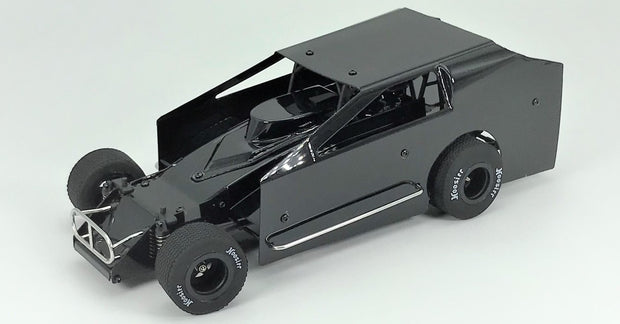 1RC Racing 1/18 Scale Dirt Modified Car RTR (Black)