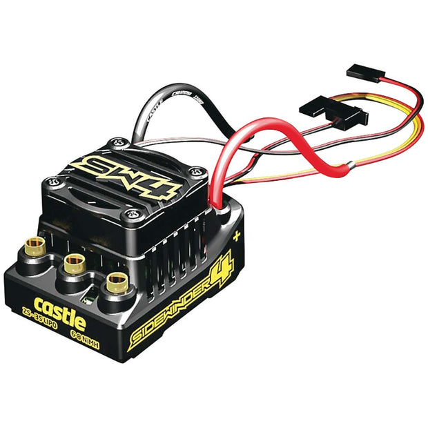 Sidewinder SW4 sport 1/10 ESC 2-3s LiPo,6-8 nimh up to 6.5lbs cars or trucks.