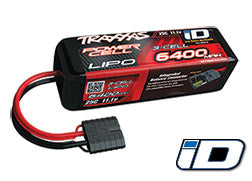 6400mAh 11.1v 3-Cell 25C LiPo Battery