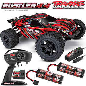RUSTLER 4X4 BRUSHED RED RTR