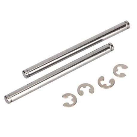 Suspension pins, 44mm (2) w/ e-clips