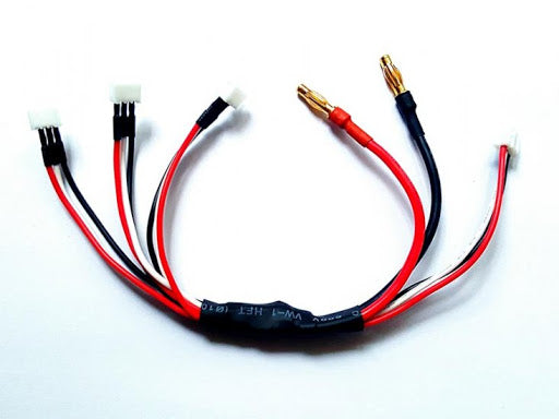 GL Racing 3x JST-PH Parallel Charging cable
