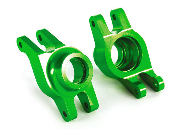 Stub axle carrier, Anodized-Aluminum (green)