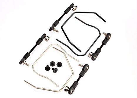 Sway bar kit (front and rear) (includes front and rear sway bars and adjustable linkage)