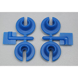 RPM LOWER spring cups for TRAXXAS Blue