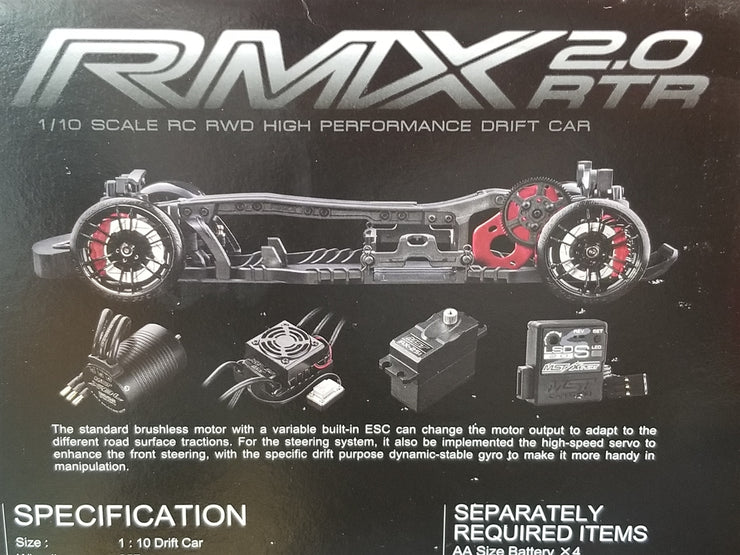 MST RMX 2.0 2WD Brushless RTR Drift Car