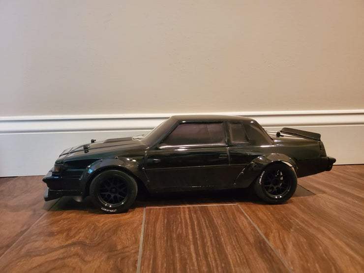 Pre-Order 1/10 Scale Custom Blacked out Brushless AWD wide body Grand National RTR package 70+MPH