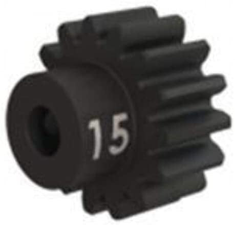 Gear, 15-T pinion (32-p), heavy duty (machined, hardened steel)/ set screw
