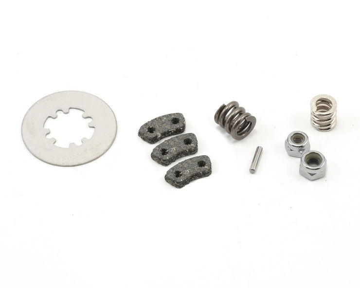Rebuild kit, slipper clutch (steel disc/ friction pads (3)/ spring (2)/ pin/ 4.0mm NL (1)/ 5.0mm NL (1))