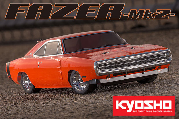 Kyosho  Fazed 1970 Charger Orange Ready Set