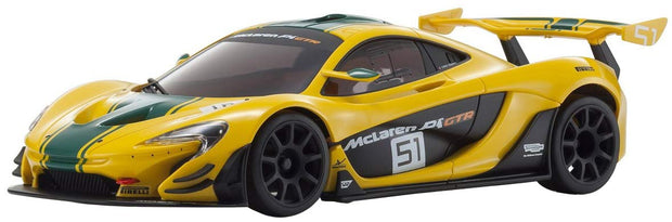 Mini-Z AutoScales Collection McLaren P1 GTR Yellow/Green