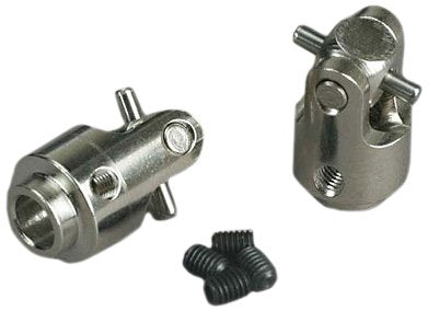 Differential output yokes, hardened steel (w/ U-joints) (2)
