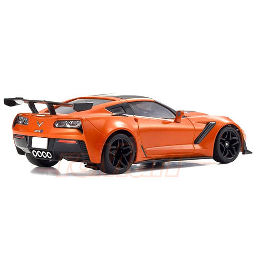 Kyosho Mini-z Corvette ZR1 with LED's Orange