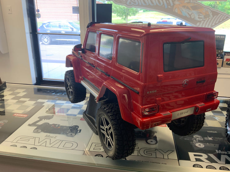 Traxxas Mercedes-Benz G500 4X4 TRX4 Trail Crawler Red