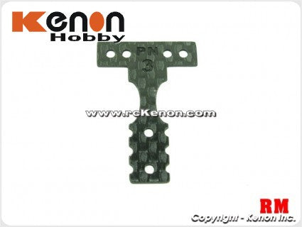 PN Racing Carbon T-Plate #4 MINI-Z MR03 RM