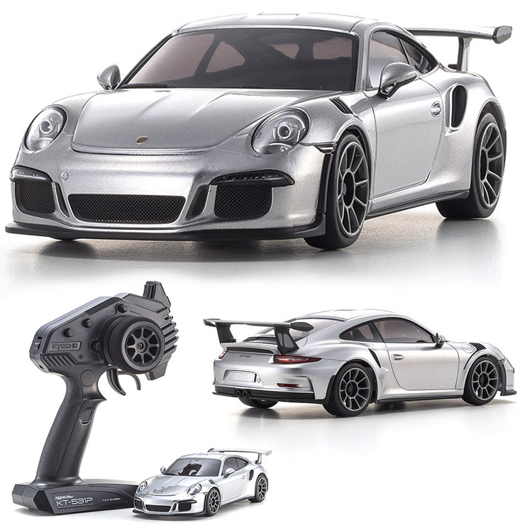 Mini-Z RWD Porsche 911 GT3 RS RTR (MR-03) GT-silbermetallic