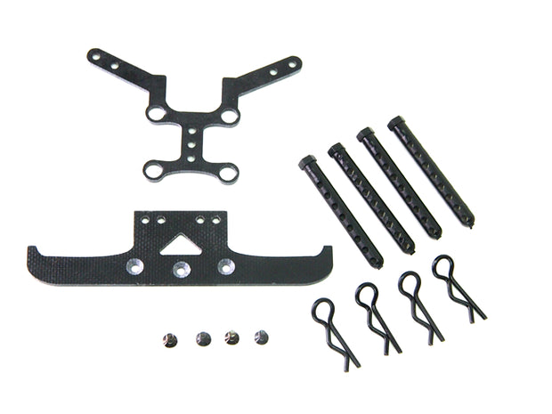 PN Racing Lexan Body Mounting Kit for Mini-z