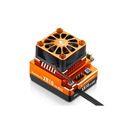 HobbyWing XR10 PRO 2S 160A Brudhless Electronic Speed Controller (Orange)