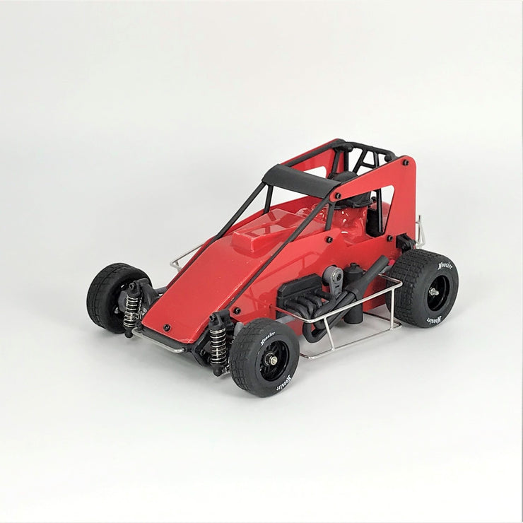 1RC Racing 1/18 Scale Midget Car 2.0 RTR (Red)