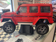 (PRE- ORDER)Traxxas Mercedes-Benz G500 4X4 TRX4 Trail Crawler Red