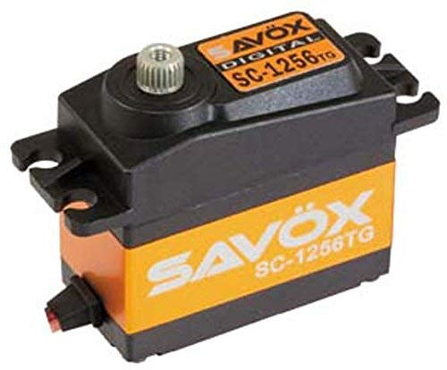 Savox STD Size SC-1256TG Servo coreless Digital @6V 20.0/277.7 oz Tq