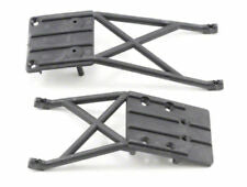 Skidplates, front & rear (black)