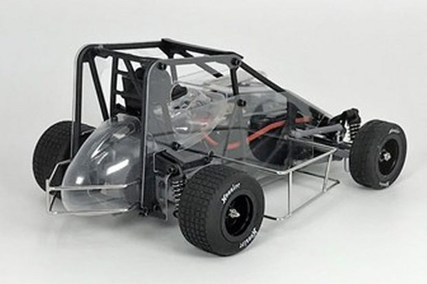 1RC Racing 1/18 Midget Car 2.0 RTR (Clear)